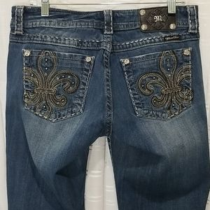 Miss Me Jeans with Gems & Embroidery